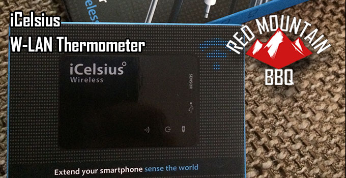 Redmountain BBQ icelsius WLan Thermometer Header