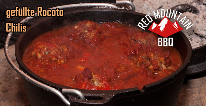 Redmountain-BBQ Rocoto Chili in Tomatensoße Header