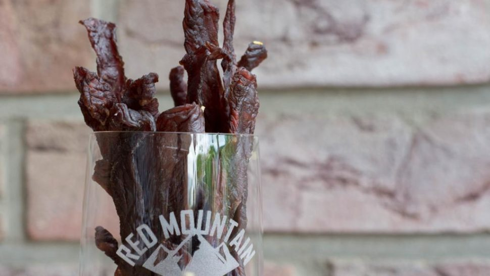 Redmountain BBQ Beef Jerky Header